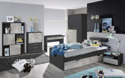 rauch jugendzimmer. Black Bedroom Furniture Sets. Home Design Ideas